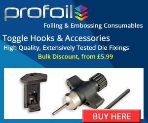 Toggle Hook Die Fixings from Profoil