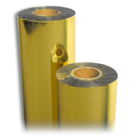 HC Gold Gloss Foil 122m Half