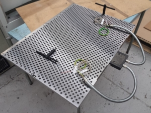 honeycomb SBB heater plate