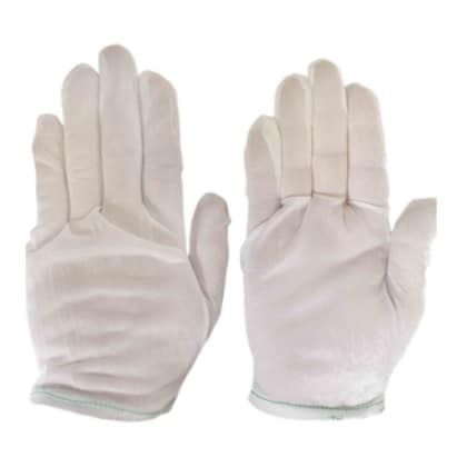 Inspection, printers proofing gloves