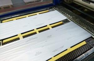 heat foam in hot foil stamping