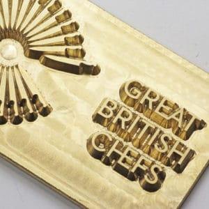 brass foiling block