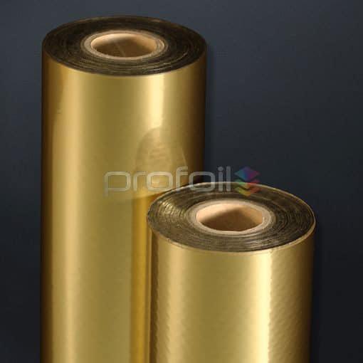 gold matt hot stamping foil