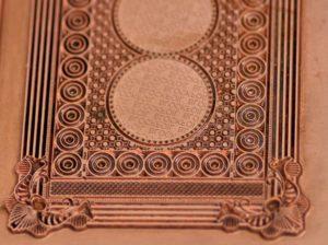 copper foil stamping block