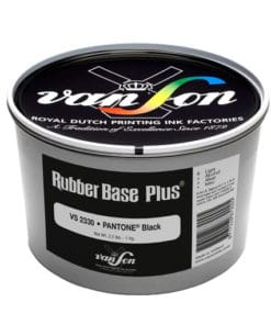 Van Son Pantone Black 2330 Rubber Base Ink