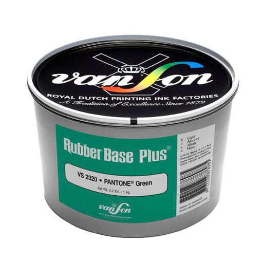 Van Son Pantone Green 2320 Rubber Base Ink