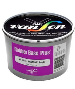 Van Son Pantone Purple 2311 Rubber Base Ink