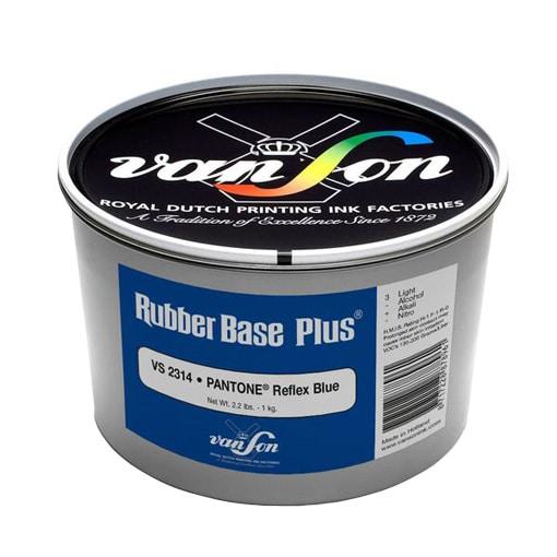 van son pantone reflex blue 2314 rubber base ink