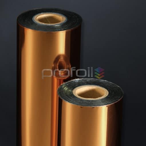 Light copper hot stamping foil