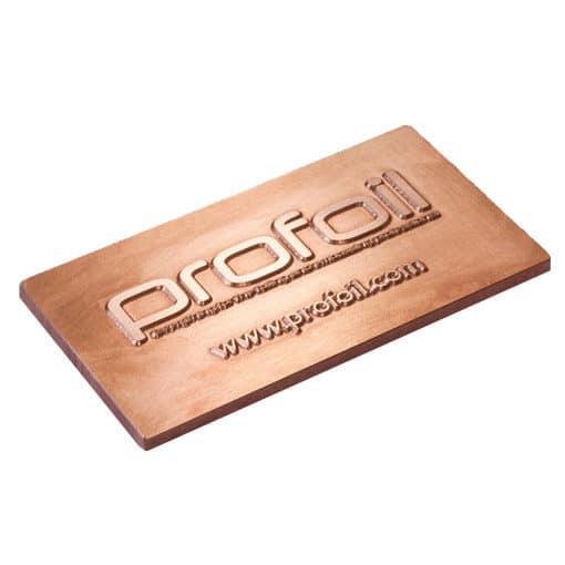 copper foiling die 3mm