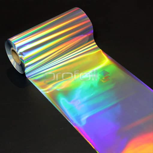 Diffuser holographic hot stamping foil