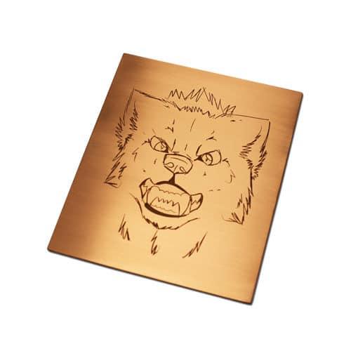 intaglio dies from copper