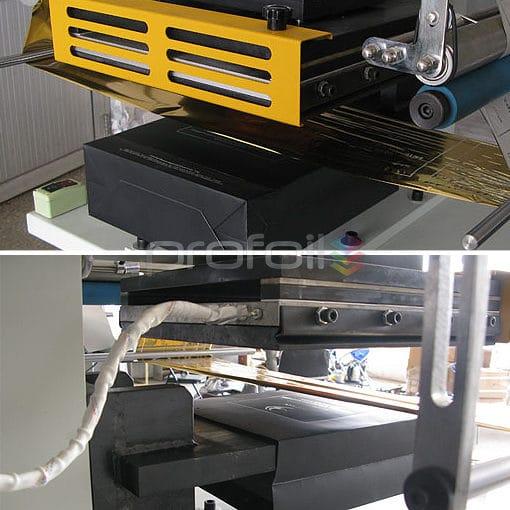 Bag hot foil stamping machine
