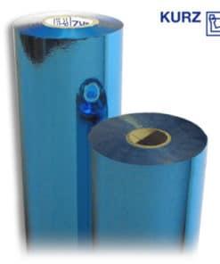 Kurz Blue 369 hot stamping foil