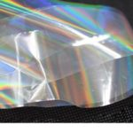 Holographic clear foil