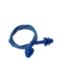 3 flange corded ear plugs