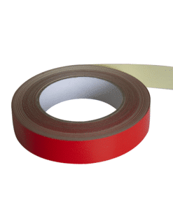 Detectortape Red 25mm