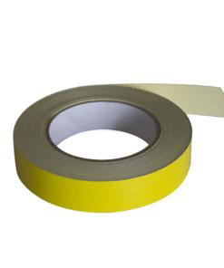 Detectortape Yellow 25mm