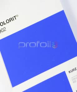 VB902 Blue Matt Pigment Foil Hot stamping foil