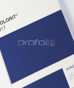 VB917 Navy Blue Matt Pigment Foil Hot stamping foil