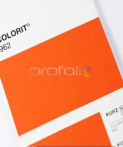 VB962 Orange Matt Pigment Foil Hot stamping foil