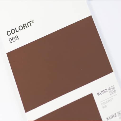 VB968 Brown Matt Pigment Foil Hot stamping foil