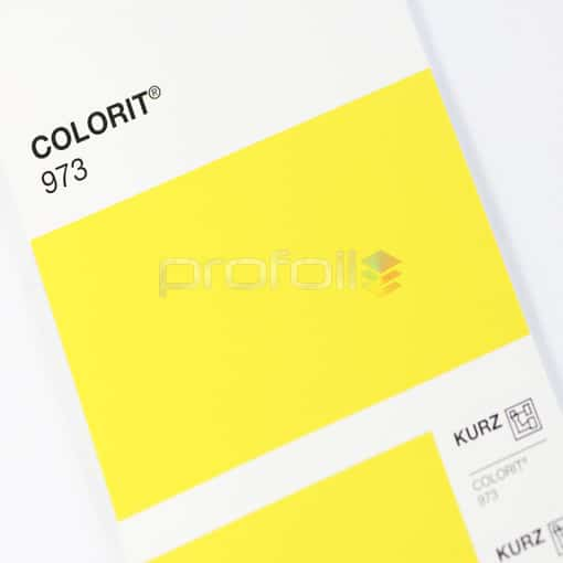 VB973 Yellow Matt Pigment Foil Hot stamping foil