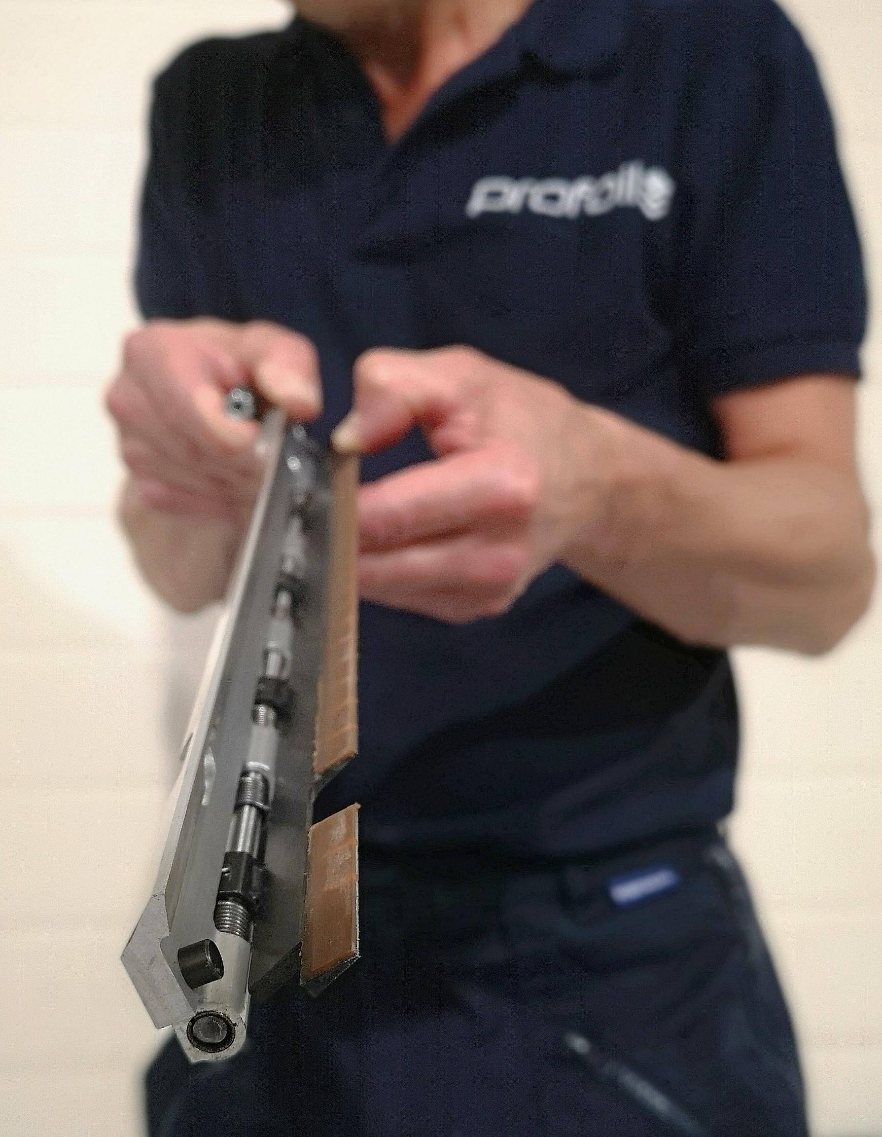 Gripper arm inspection